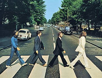 The Beatles op Abbey Road